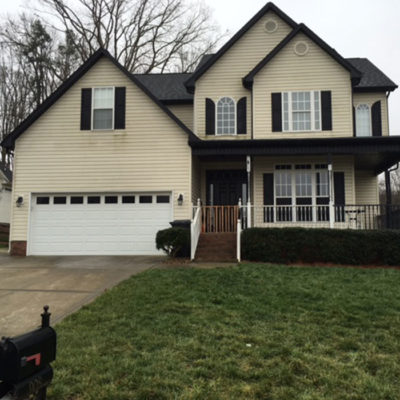 house with black shutters Evergreen Construction Solutions 8425 Old Statesville Rd #8, Charlotte, NC 28269 (704) 609-3561