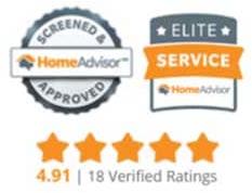 Home Advisor Award For Evergreen Roofing